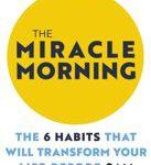 The Miracle Morning. Vroeg opstaan boek.